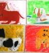 Kid-pastel-dogs